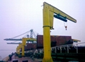 MH model electric single girder gantry