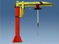 ZB-A型壁挂式旋臂起重机