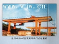 L Type Electric Hoist Sigle Gantry Crane 2