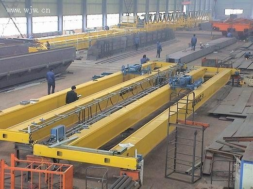 L Type Electric Hoist Sigle Gantry Crane 5