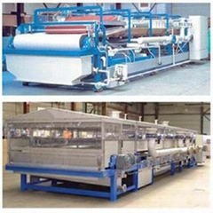 供應DU型橡膠帶式真空過濾機