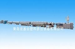 高密度聚乙烯大口徑供水燃氣管材生產線