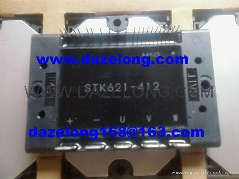 Stk621 412 3 phase inverter motor drive inverter hybrid ic for 3 phase motor inverter