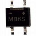 整流桥堆MB1S  MB6S