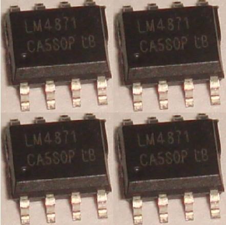 LM358 LM393 LM324 LM339 LM386 LM1875 LM8560 LM4890 LM4990 LM567 LM331