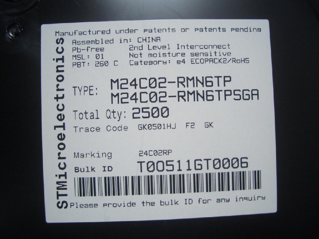 M24C02  M24C04  M24C08  M24C016  M24C32  M24C64  M24128  M24256  M24512  M24M01 1