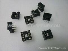 IC Sockets   IC SOCKET   CHIP SOCKET  8P 14P 16P 18P 20P 28P 32P 40P