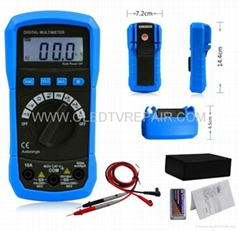 AUTO RANGE MINI DIGITAL MULTIMETER WITH BACKLIGHT/TEMP/HZ