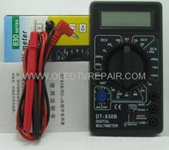 DIGITAL CLAMP MULTIMETER  DIGITAL MULTIMETER  DT830B  DT3266  DT266