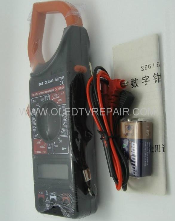 Digital Clamp Meter Dt 266 : Digital clamp multimeter dt b