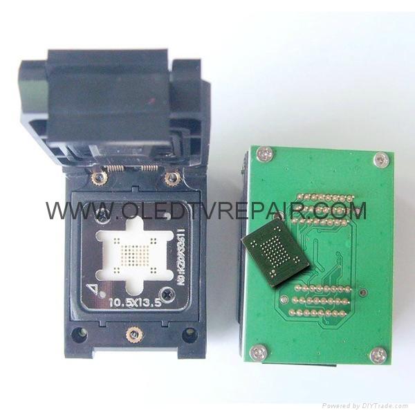 汽車芯片測試座PLCC28 PLCC44 SOP TSOP  QFP44 BGA  9