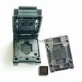 汽車芯片測試座PLCC28 PLCC44 SOP TSOP  QFP44 BGA  10