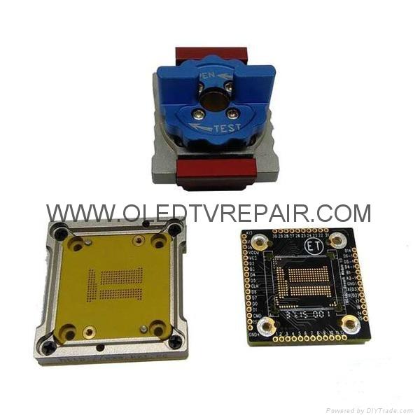 汽车芯片测试座PLCC28 PLCC44 SOP TSOP  QFP44 BGA  12