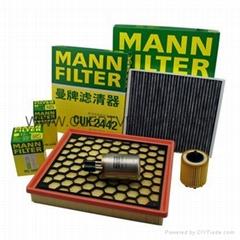 曼牌滤清器 汽车空调滤清格  汽车滤清器  汽车机油滤清器