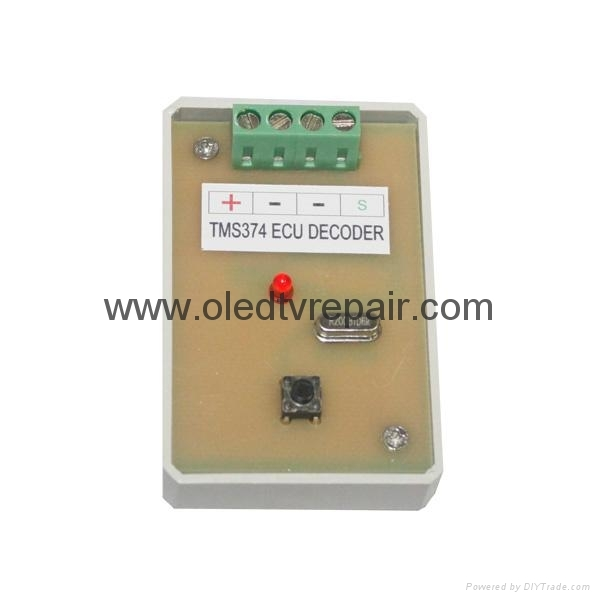 TMS374 ECU Decoder