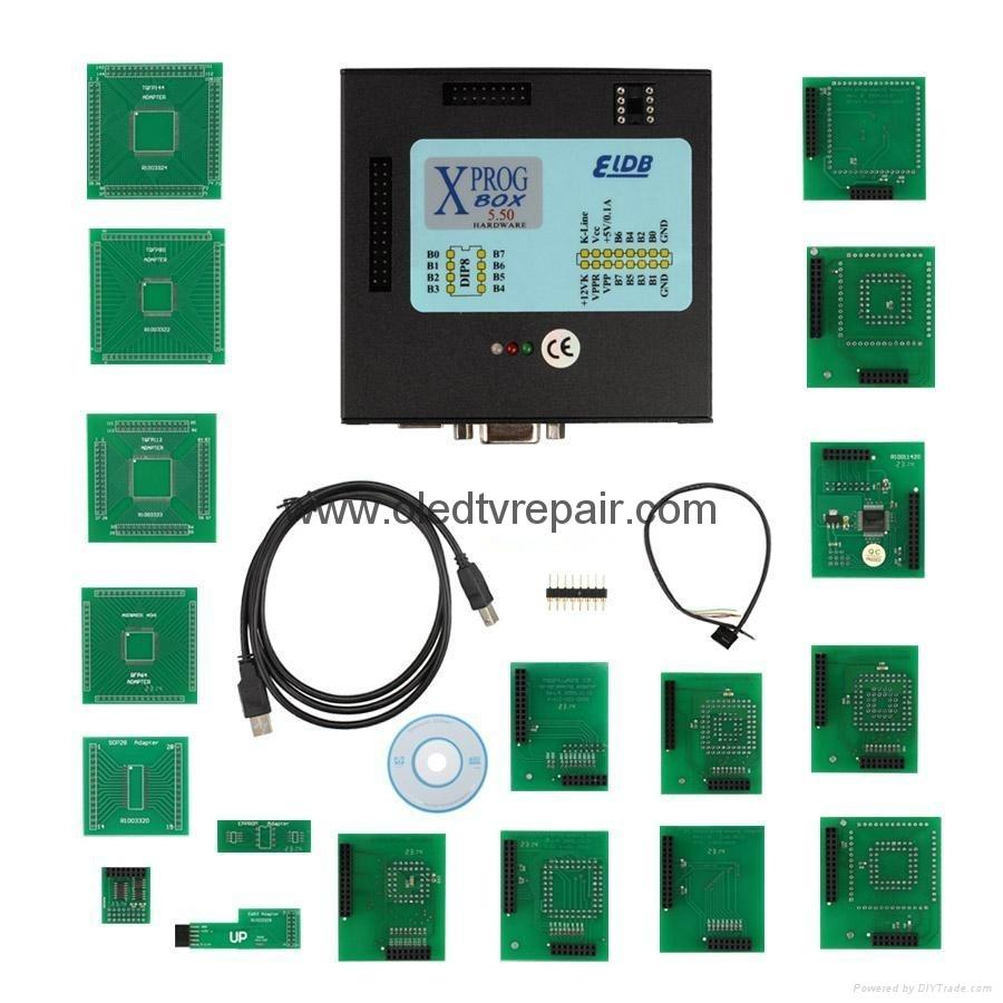 XPROG-M V5.50 Box ECU Programmer