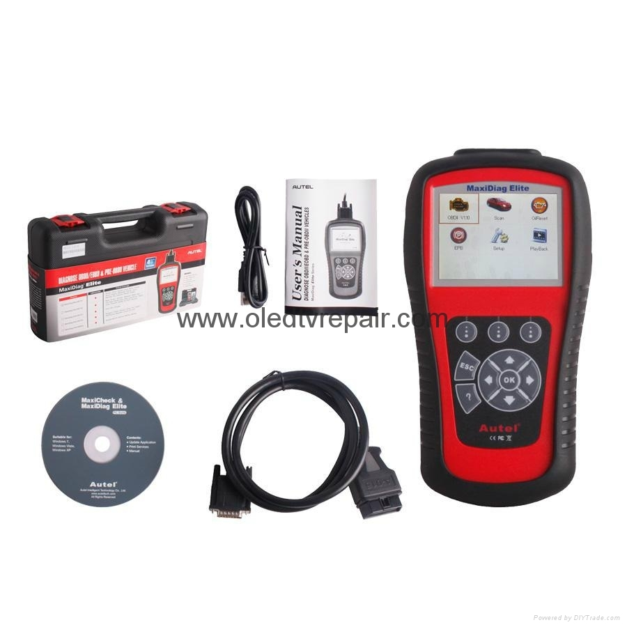 Autel Maxidiag Elite MD701Code Scanner for 4 System