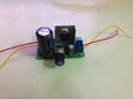 LM317 Adjustable voltage stabilized power supply board