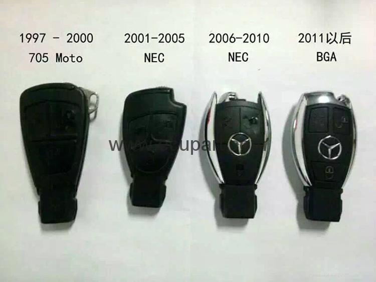奔馳Mercedes-Benz NEC BGA 315MHZ 433MHZ  434MHZ GLK GLA GLC ML 4