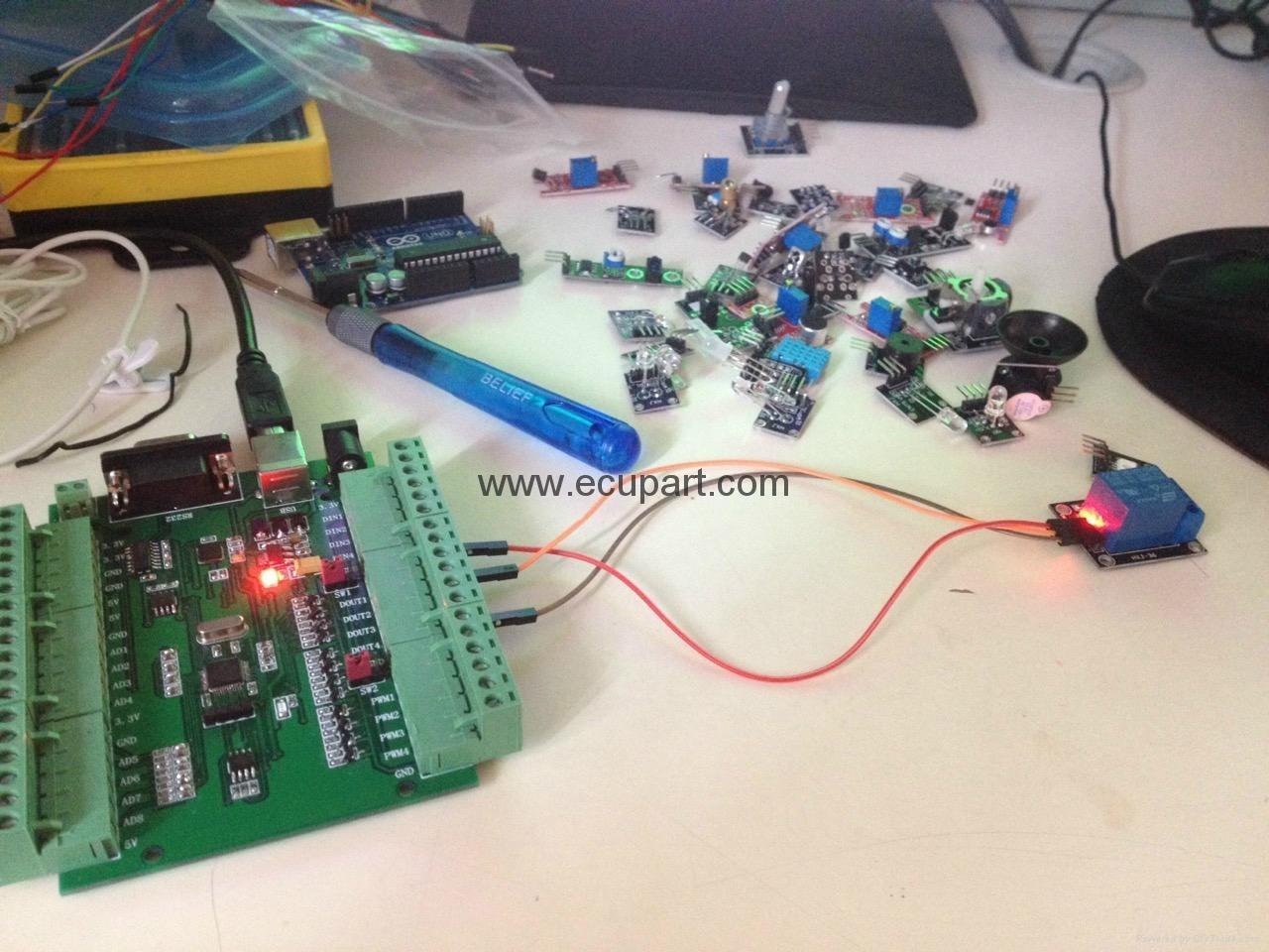 Sensor acquisition board, sensor acquisition card