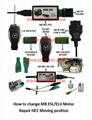 OEM New ESL/ELV Motor Steering Lock Wheel Motor for Mercedes-Benz W204 W207 W212