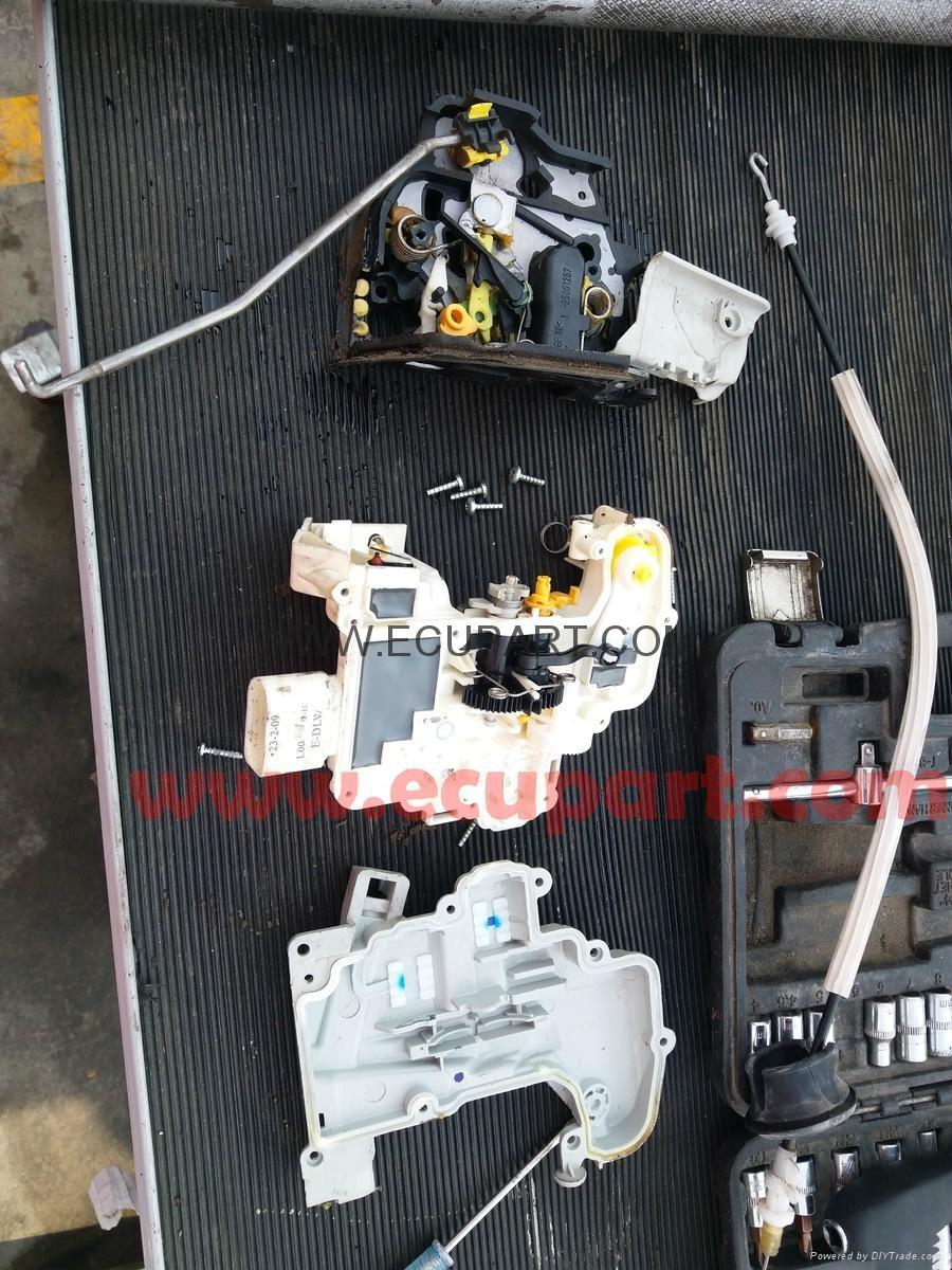 斯柯達昊銳車門鎖塊電機馬達保時捷卡宴閉鎖器鎖機中控鎖奧迪A6L A4L 6