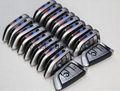 宝马F底盘全智能刀锋钥匙 F底盘CAS4+/FEM刀锋钥匙 X5钥匙 X6钥匙