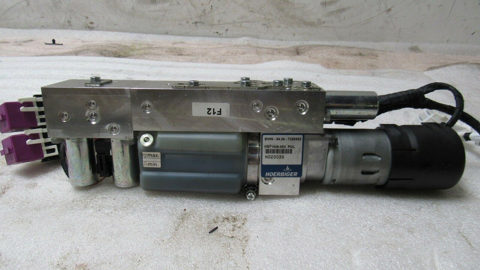BMW F12 F6 M6 650i CONVERTIBLE ROOF LIFT HYDRAULIC PUMP 7226952  4
