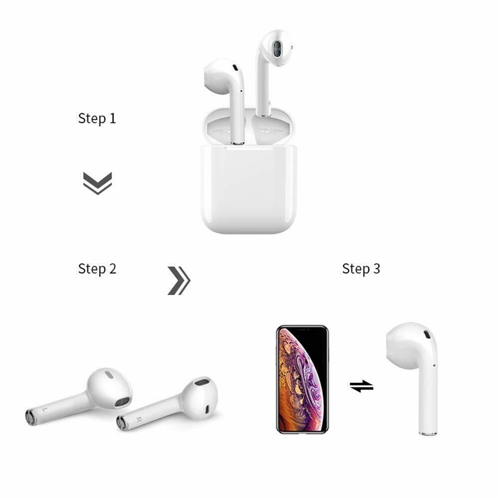 pop-ups auto pairing Apple airpods wireless Bluetooth headset iPad Pro3 iPhone 4