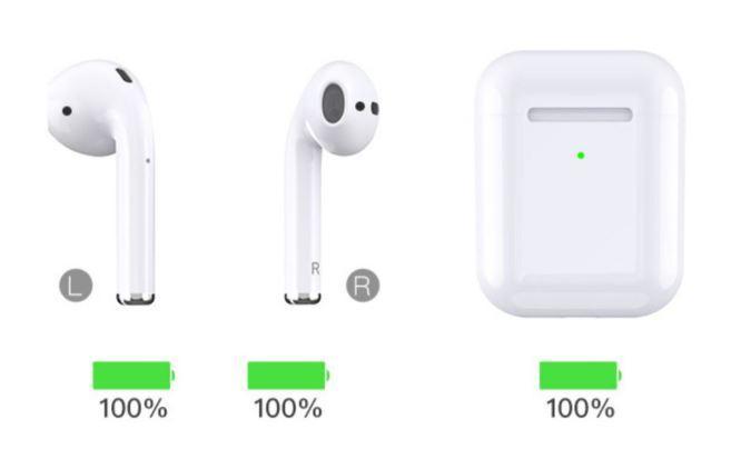 适用于 Apple 苹果 AirPods2代 无线蓝牙耳机 支持iPad Pro3代 iPhone手机 5