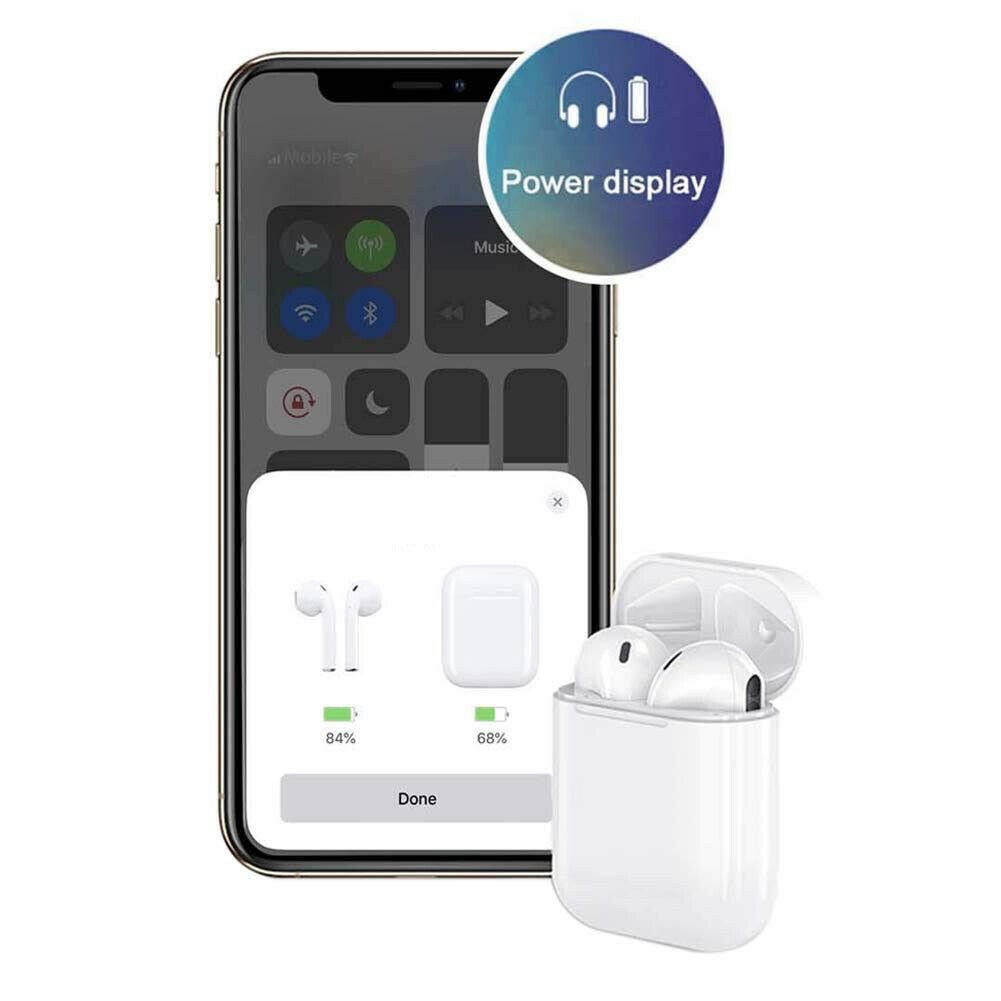 适用于 Apple 苹果 AirPods2代 无线蓝牙耳机 支持iPad Pro3代 iPhone手机 8