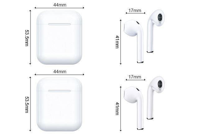适用于 Apple 苹果 AirPods2代 无线蓝牙耳机 支持iPad Pro3代 iPhone手机 12
