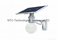 New solar LED street light