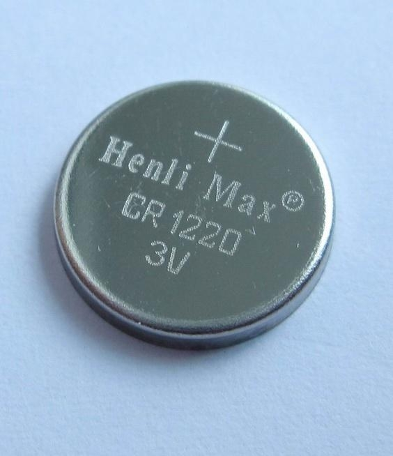 CR1220 Henli Max Lithium Button Cell 1