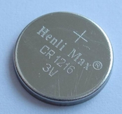 CR1216 Henli Max Lithium Button Cell