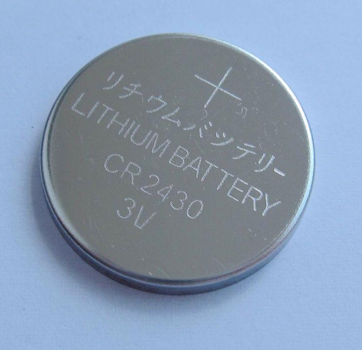 CR2430 Lithium Button Cell 1