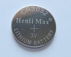 CR3032-Henli Max Lithium/Manganese Dioxide Button-cell Batteries