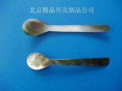 厂家直销供应各种尺寸和造型的鱼子酱贝壳勺100件起定