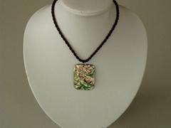pendant made of puau shell