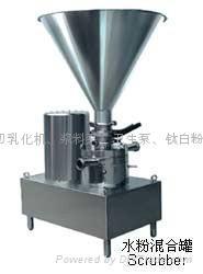 混合機乳化研磨粉碎設備 2