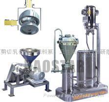 混合機乳化研磨粉碎設備 5
