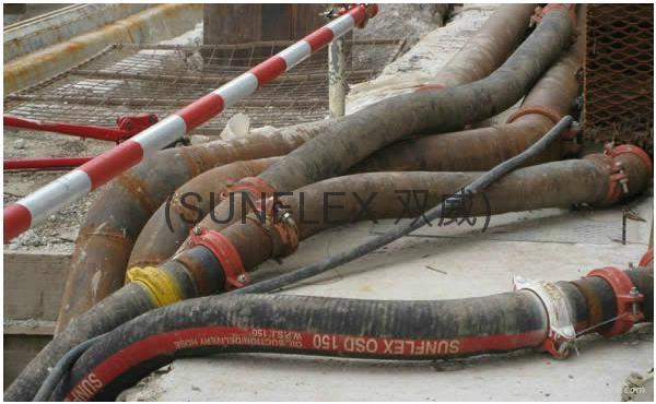 SUNFLEX for TBM rubber hose 2