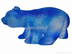 crystal crafts--crystal anmal--crystal bear--BJ028
