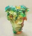 琉璃龙凤花瓶 4