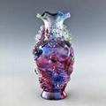 琉璃龙凤花瓶 2