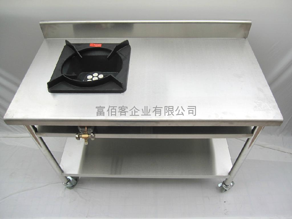 Uncategorized Kitchen Appliance Wheels stainless wok kitchen on wheels kh w hoki china manufacturer 2