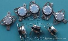 供应KSD301系列40度常开低温保护器