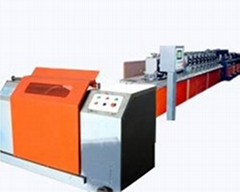 Submerged arc flux cored wire production equipment