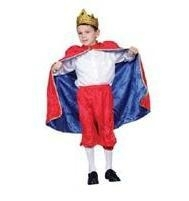 儿童戲劇舞臺表演裝國王裝
