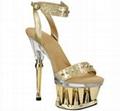 6.5 Inch High Heels Stripper Shoe